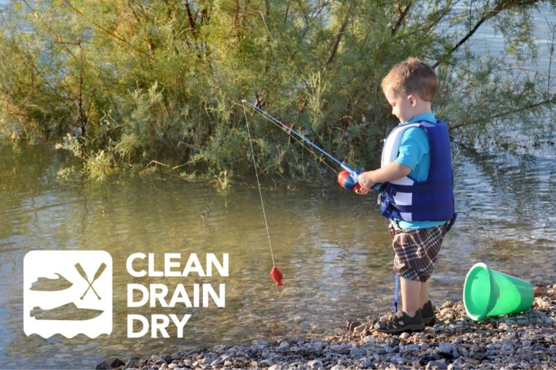 Father's Day boaters reminded to always Clean, Drain and Dry to protect BC's waters from invasive species