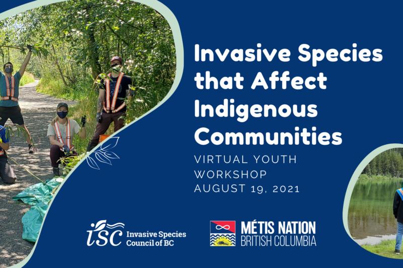 Métis Youth Workshop: Invasive Species that Affect Indigenous Communities